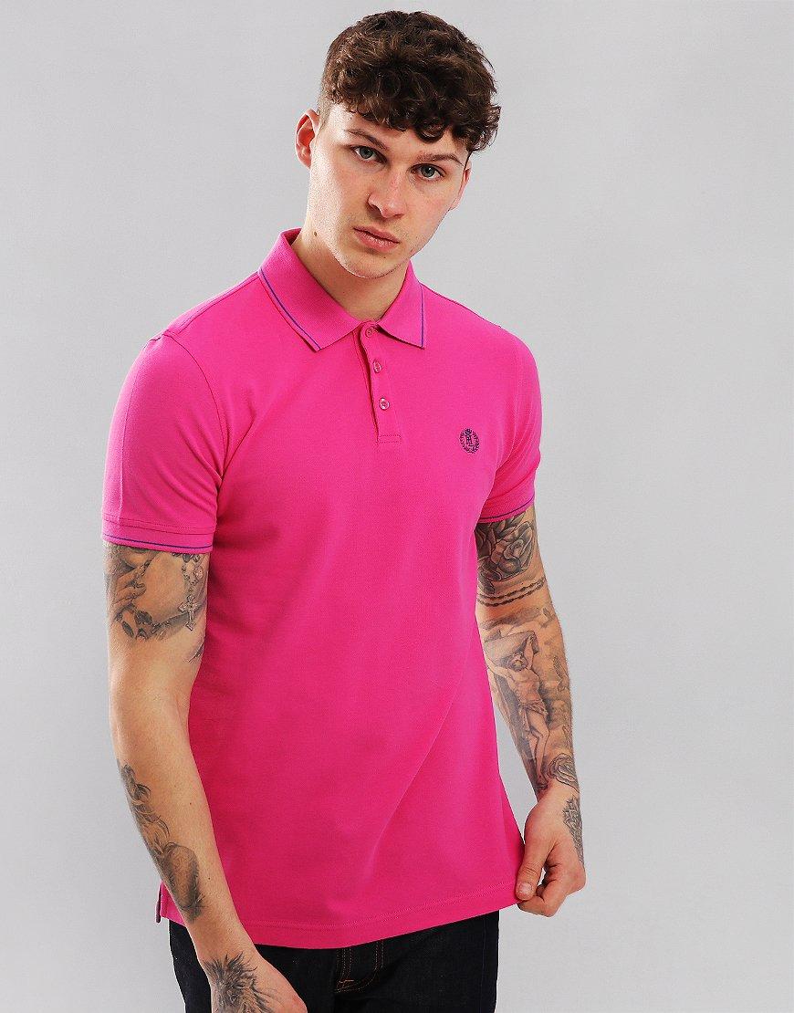 Henri Lloyd Abington Polo Shirt Deep Pink
