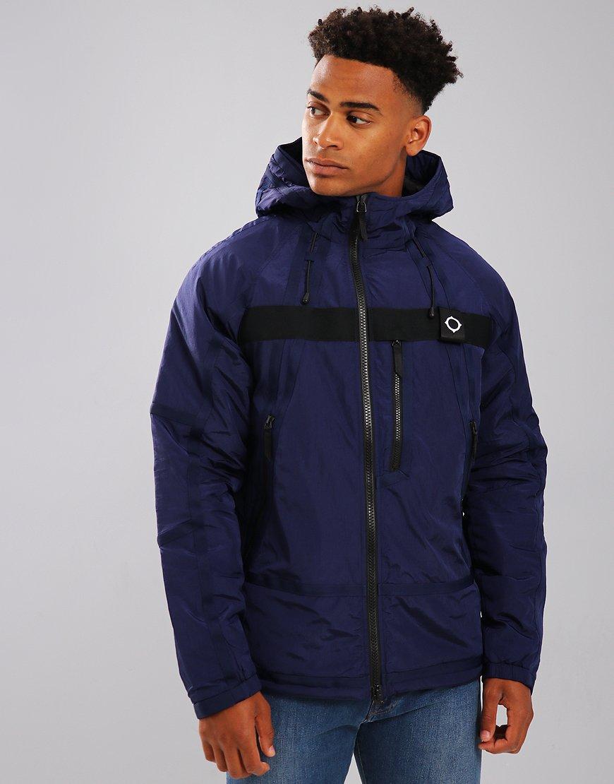 Ma Strum Terraces Menswear Torch Tunik Women Blue Black Navy Xl Compression Jacket Dark Indigo