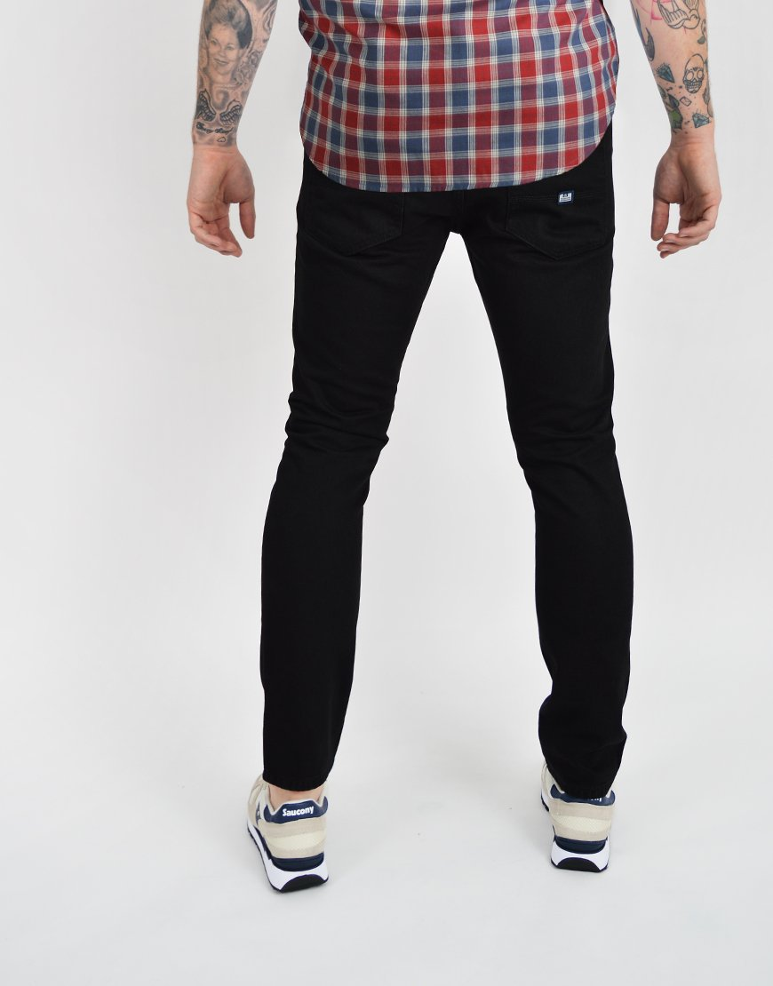 Weekend Offender Tapered Fit Jeans Black