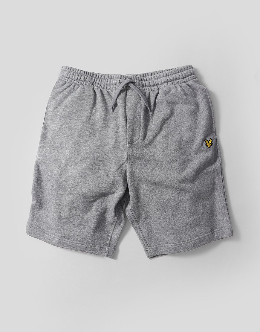 Lyle & Scott Sweat Shorts Mid Grey Marl