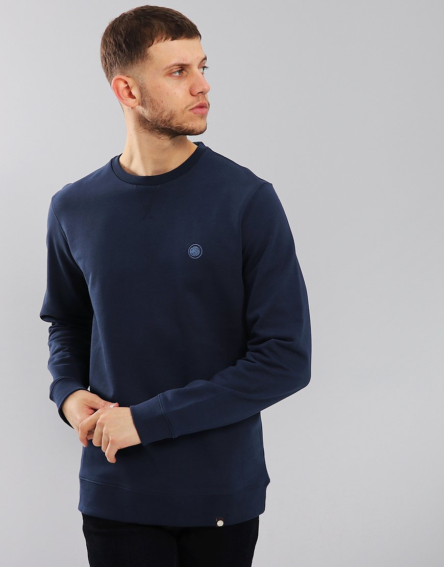 Pretty Green Clements Sweatshirt Navy