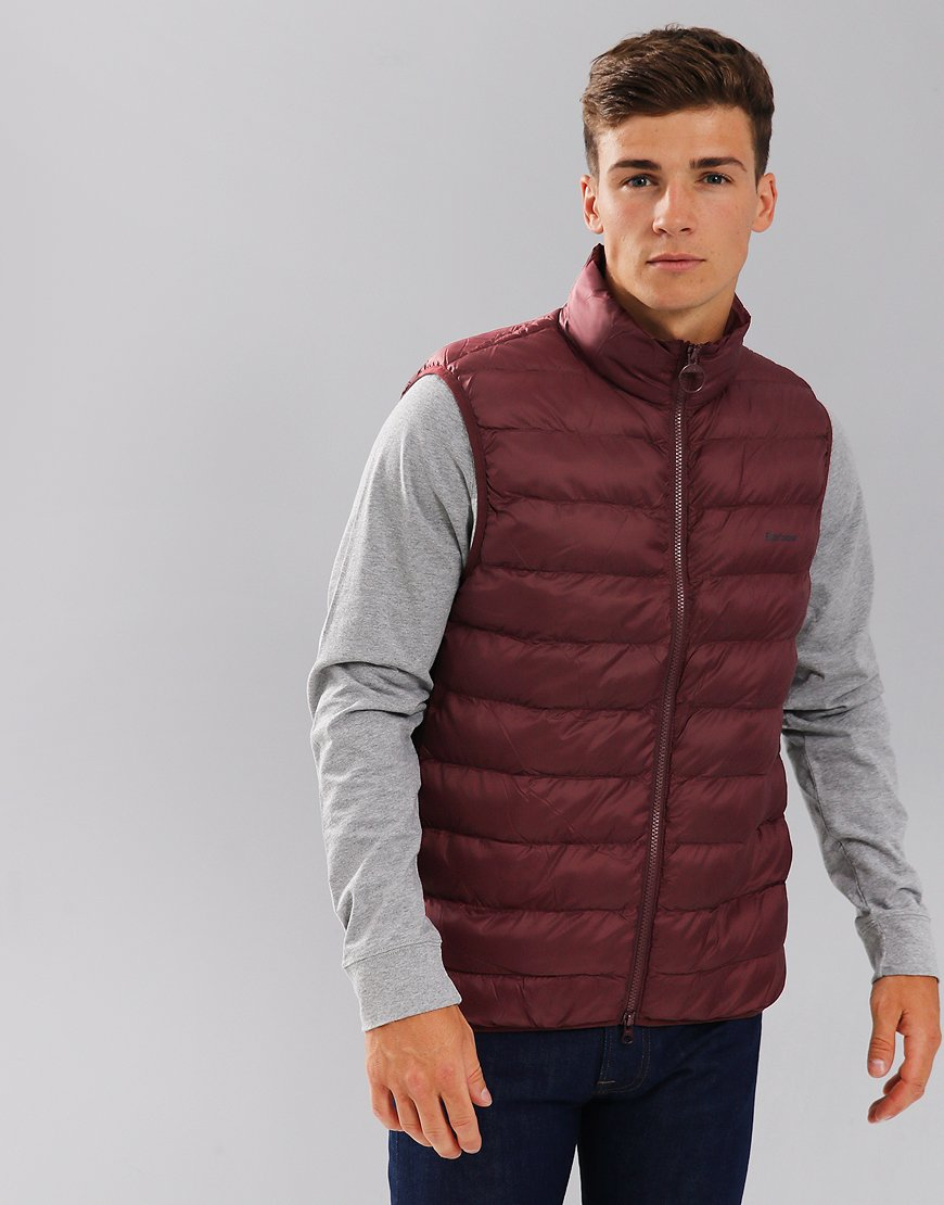 Barbour Bretby Quilted Gilet Aubergine