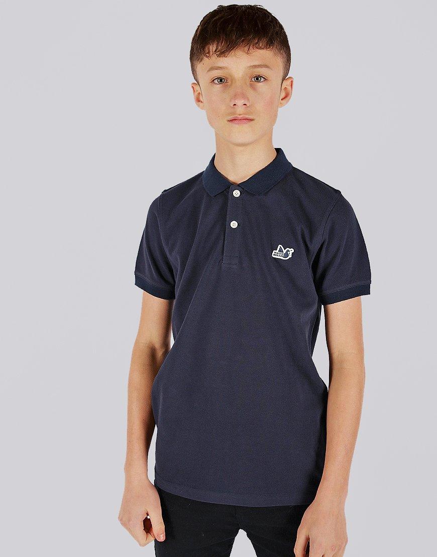 Peaceful Hooligan Junior Dylan Polo Shirt Navy