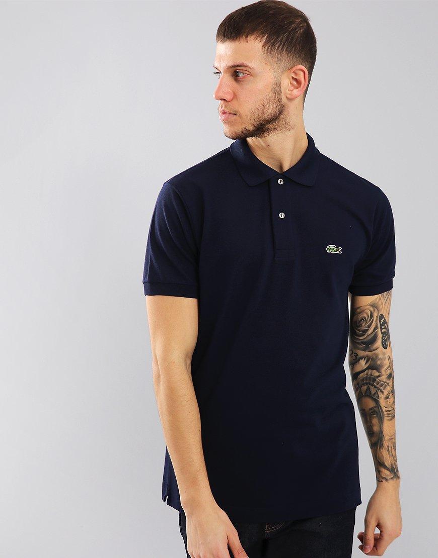 a28a4e7f Lacoste L.12.12 Best Polo Shirt Navy - Terraces Menswear
