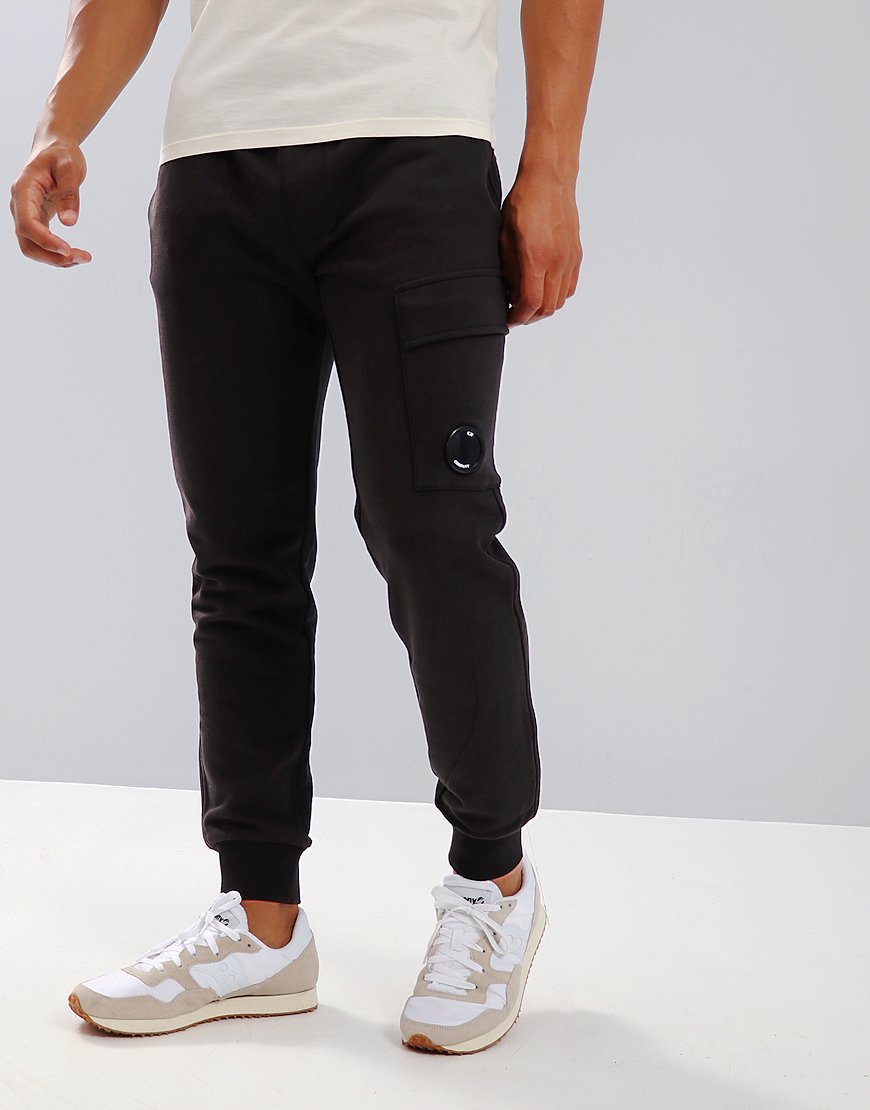 C.P. Company Light Fleece Cargo Sweatpant in Total Eclipse