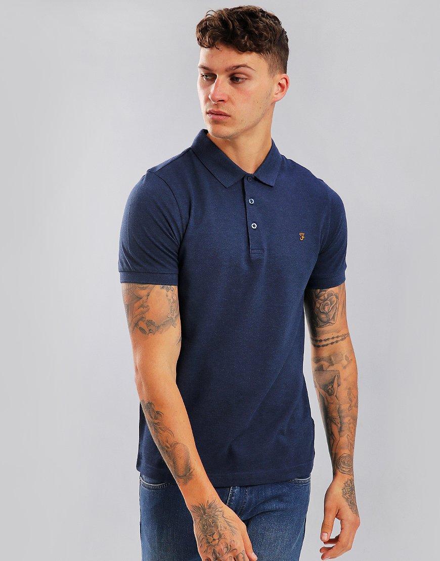 Farah Blaney Polo Shirt Yale Marl