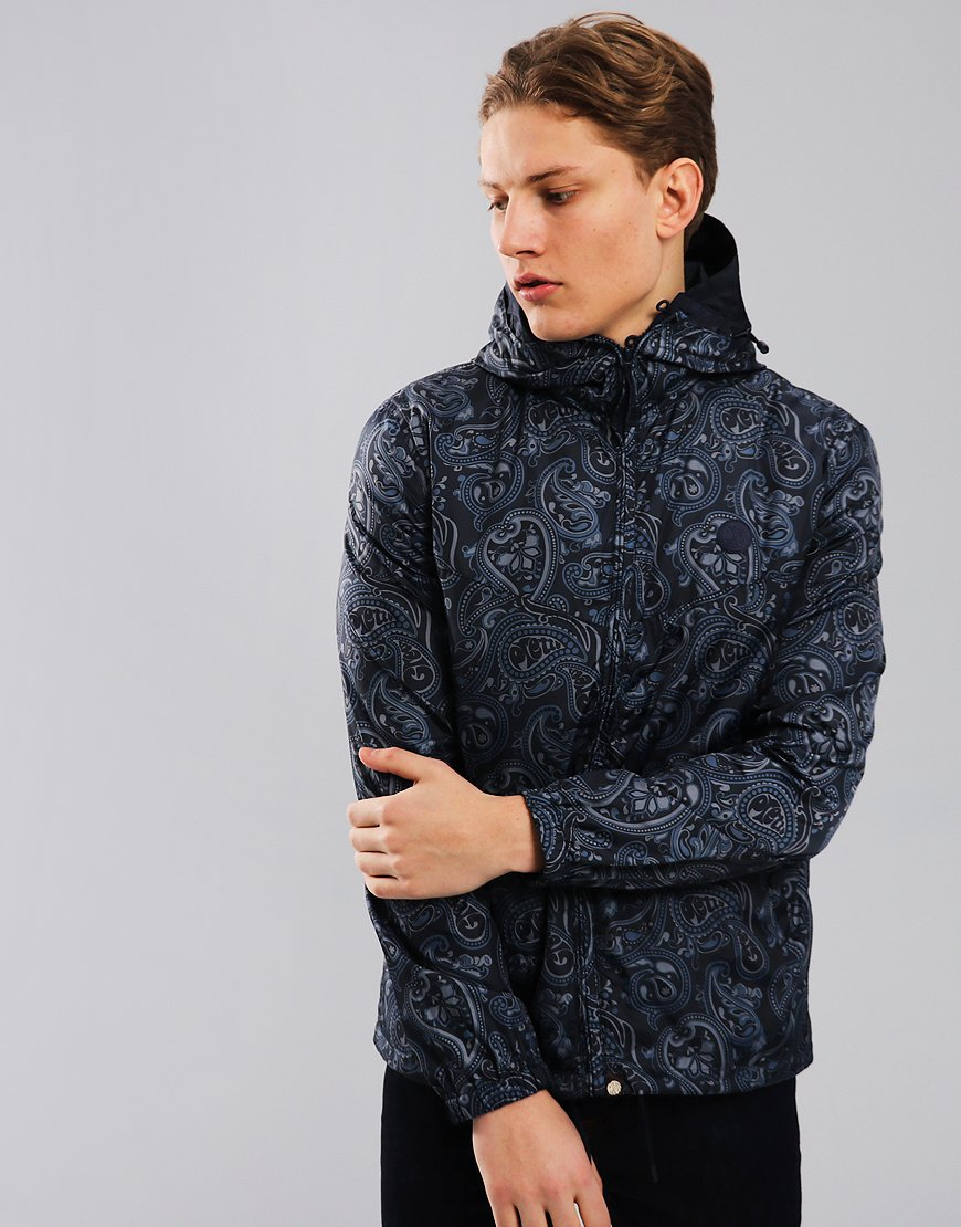 Pretty Green Paisley Ashworth Jacket Navy