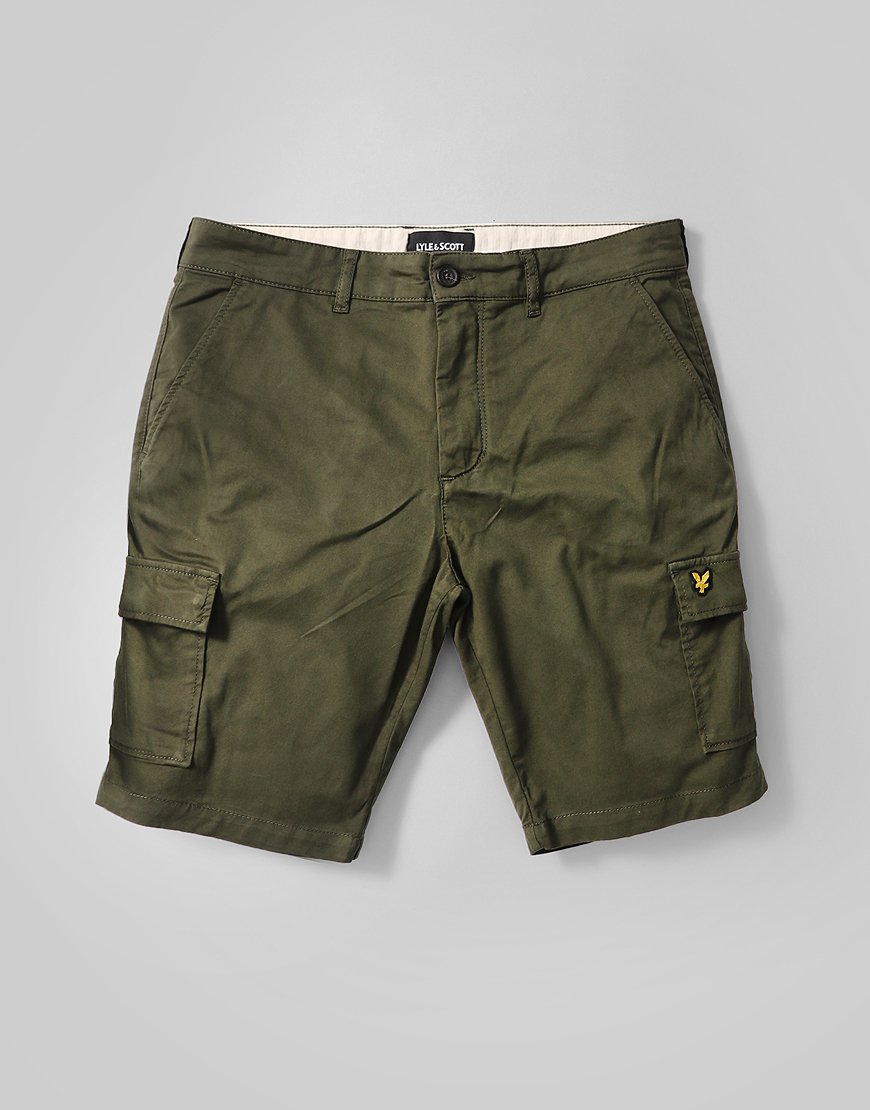Lyle & Scott Cargo Shorts Sage Green