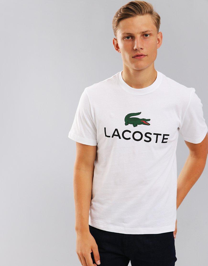 Lacoste Large Logo T-Shirt White