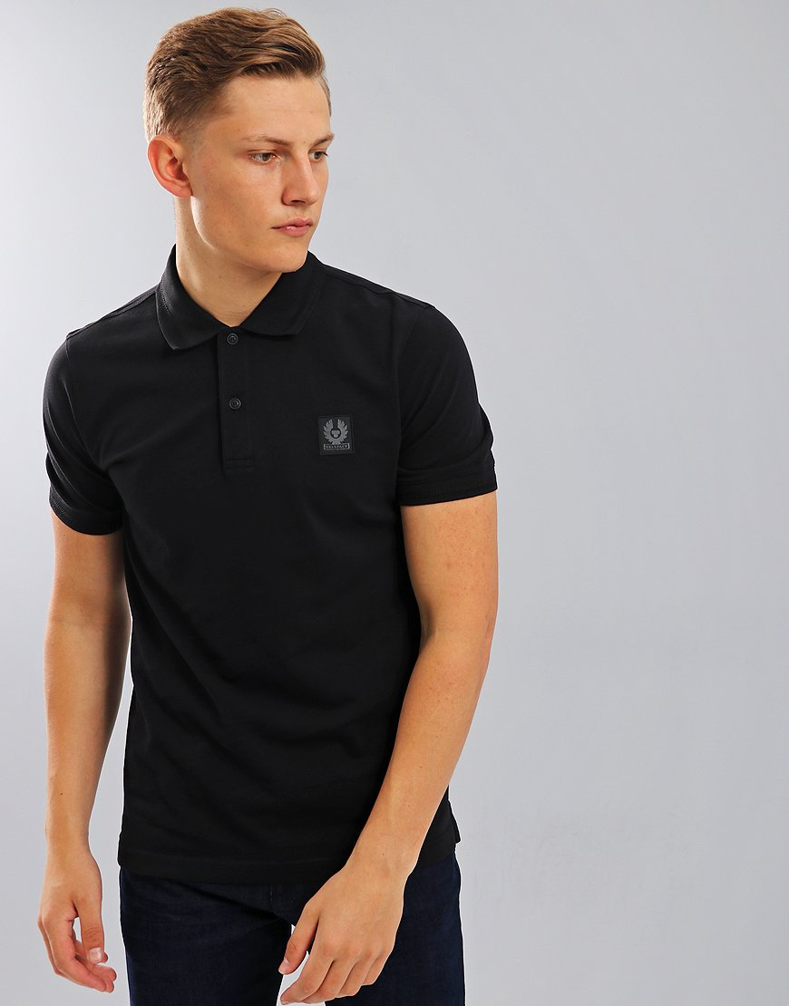 Belstaff Stannett Polo Shirt Black