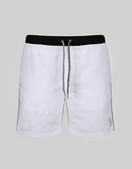 Luke 1977 Boxer Sport Swim Shorts White