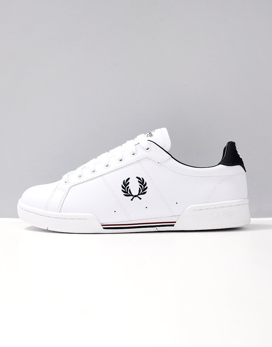 Fred Perry B7222 Leather White