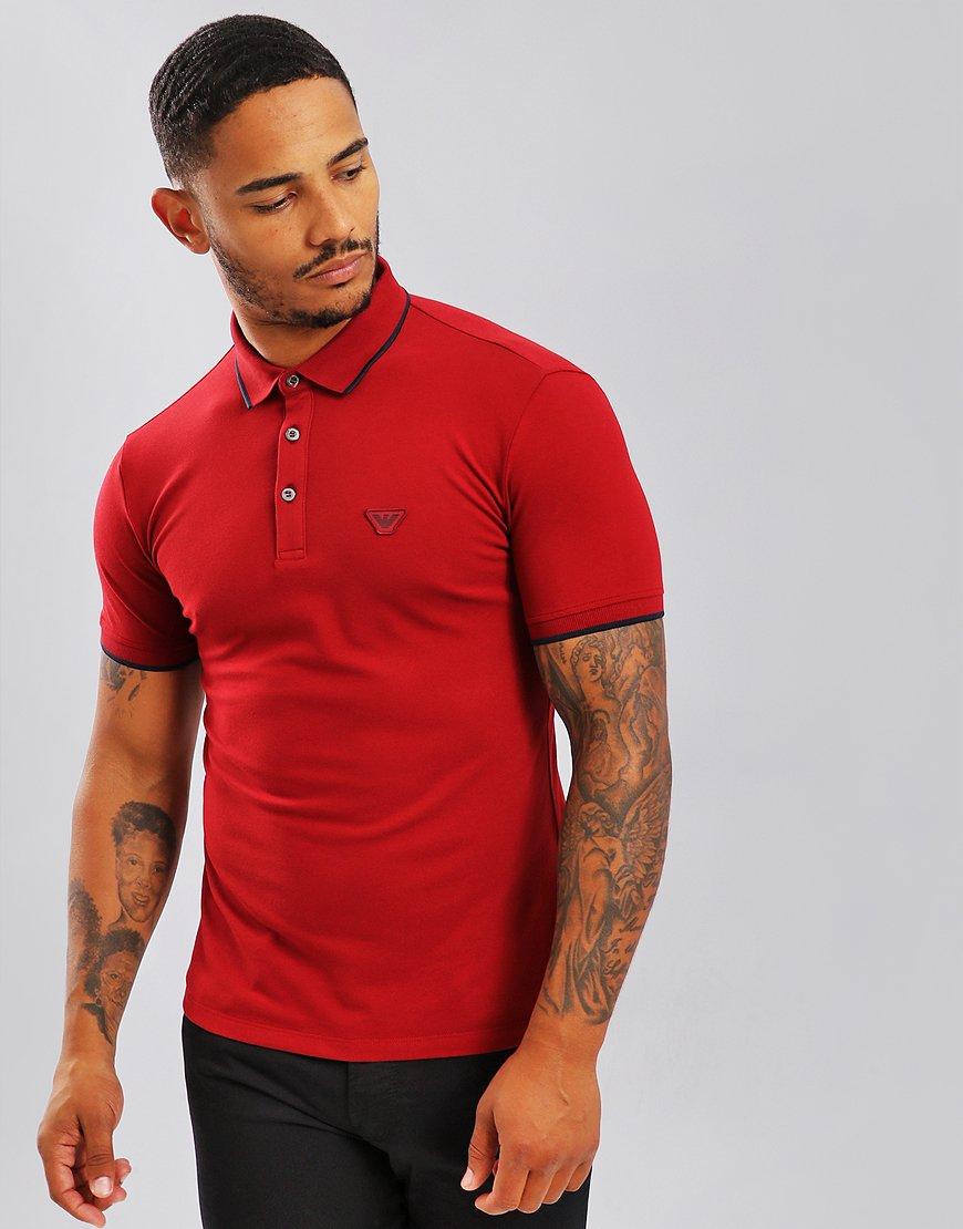 Emporio Armani Polo Shirt Rio Red