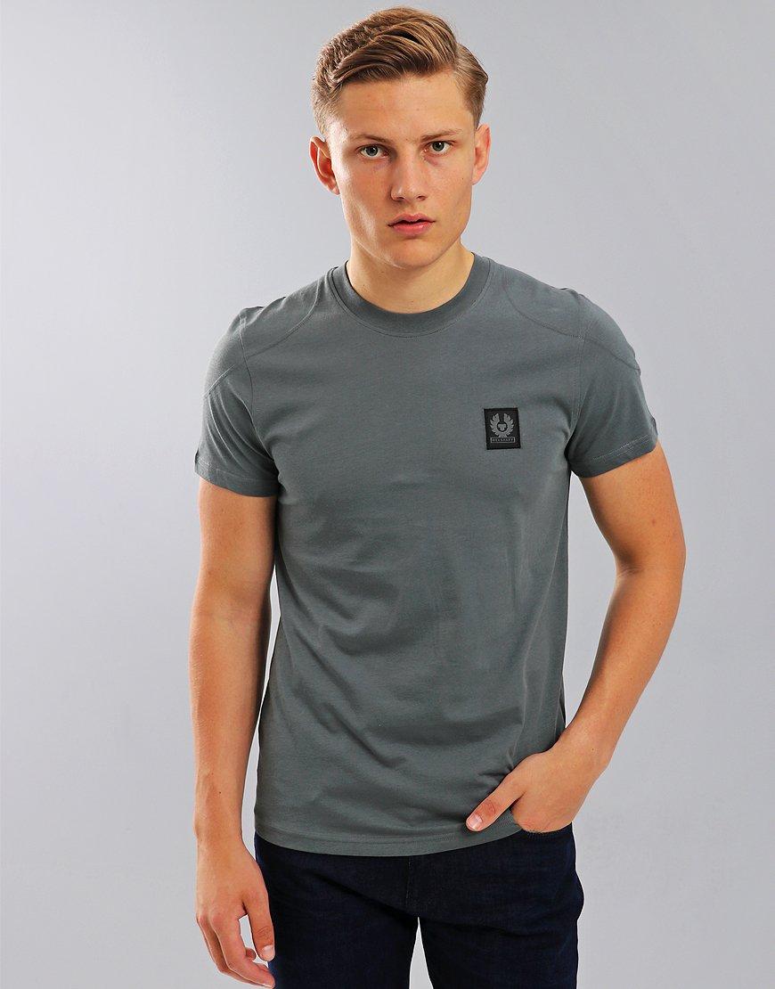 Belstaff Throwley T-Shirt Blue Flint
