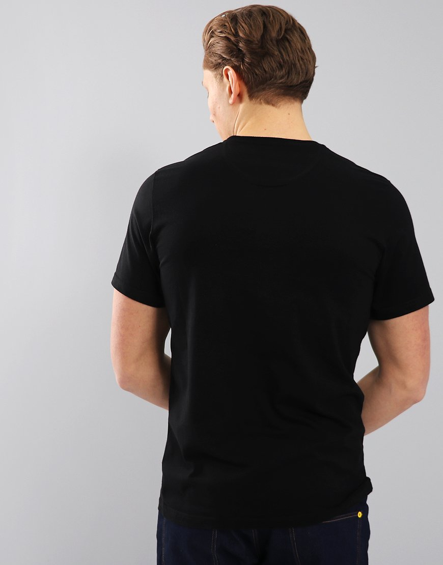 Barbour International Essential Large Logo T-Shirt Black
