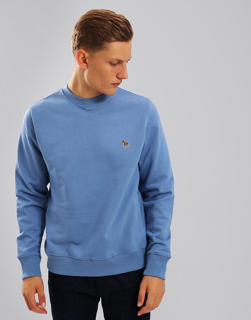 Paul Smith Zebra Logo Sweatshirt Turquoise