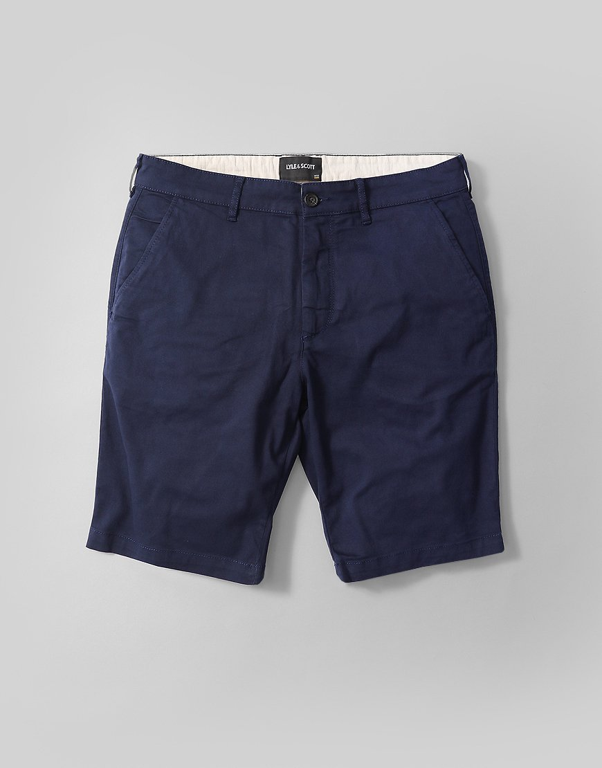 Lyle & Scott Chino Shorts Navy