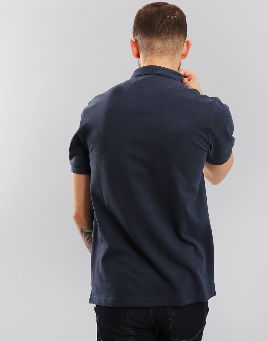 Farah Merriweather Polo Shirt True Navy