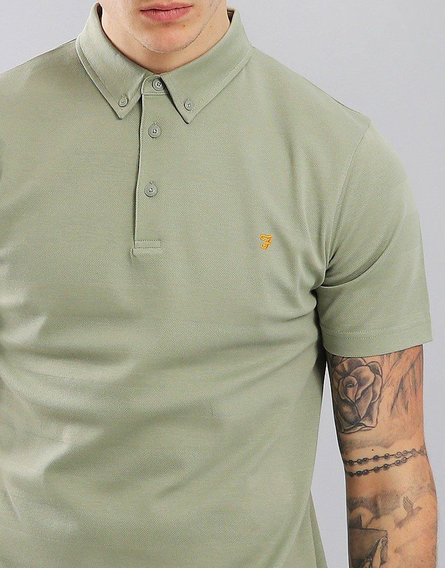 Farah Stapleton Short Sleeved Polo Shirt Balsam
