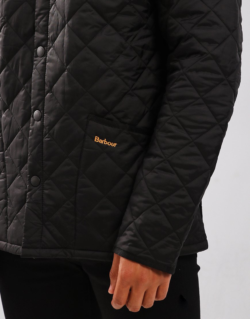 Barbour Liddesdale Quilted Jacket   Black