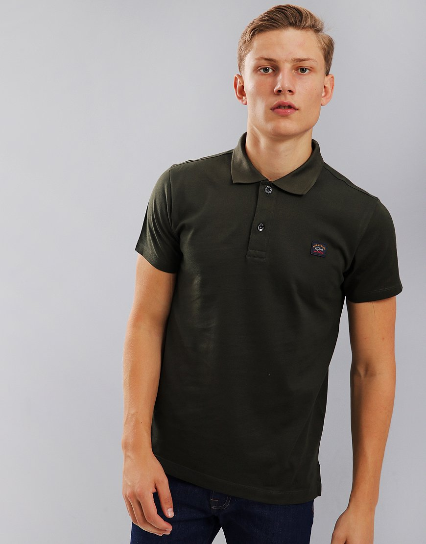 Paul & Shark Polo Shirt Military Green