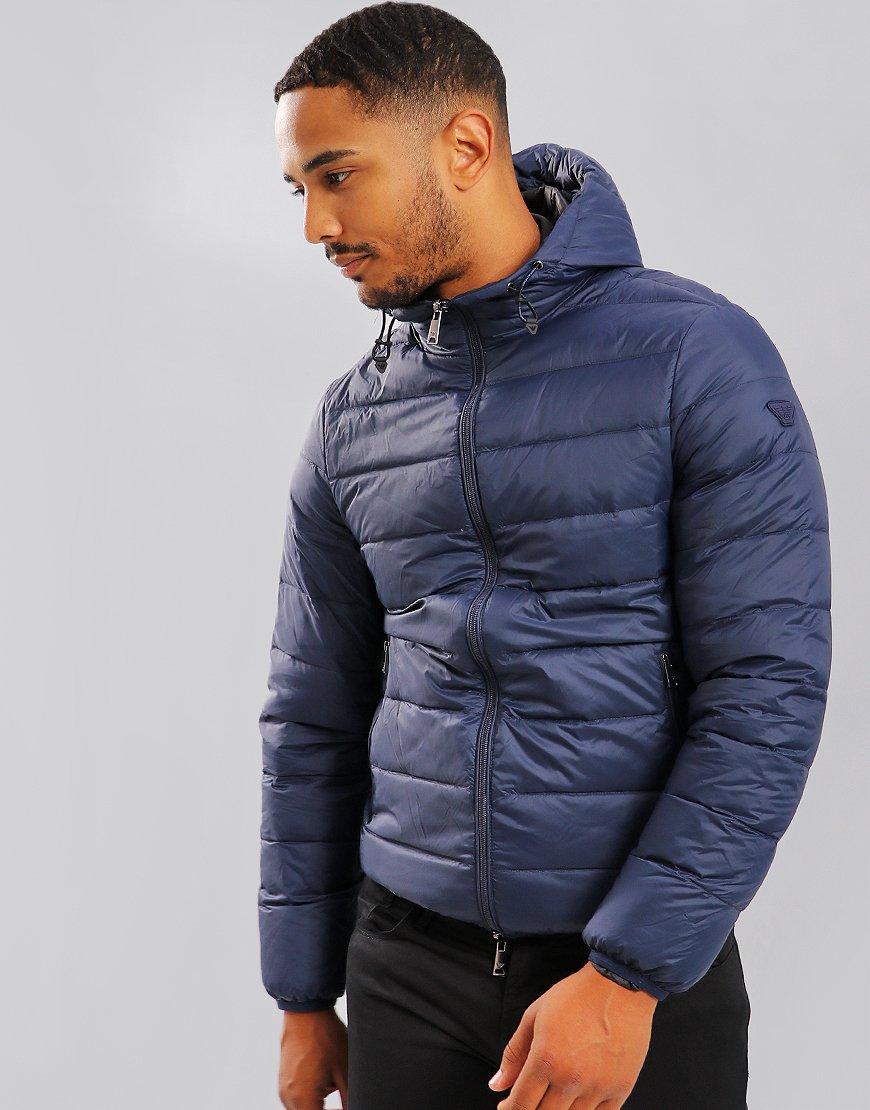 Emporio Armani Down Jacket Blue