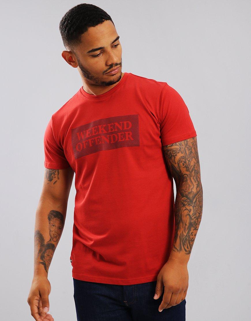 Weekend Offender Groves T-Shirt Rust