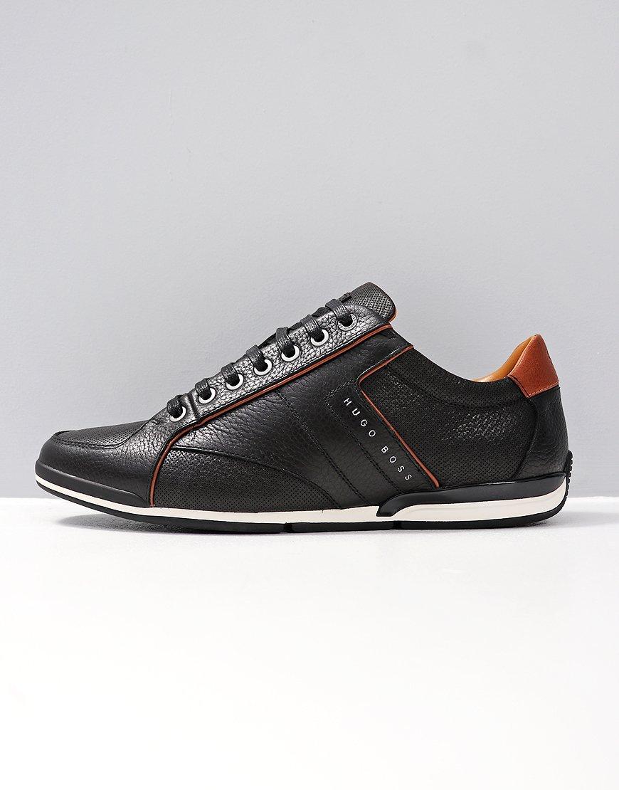 BOSS Saturn_Lowp Leather Black