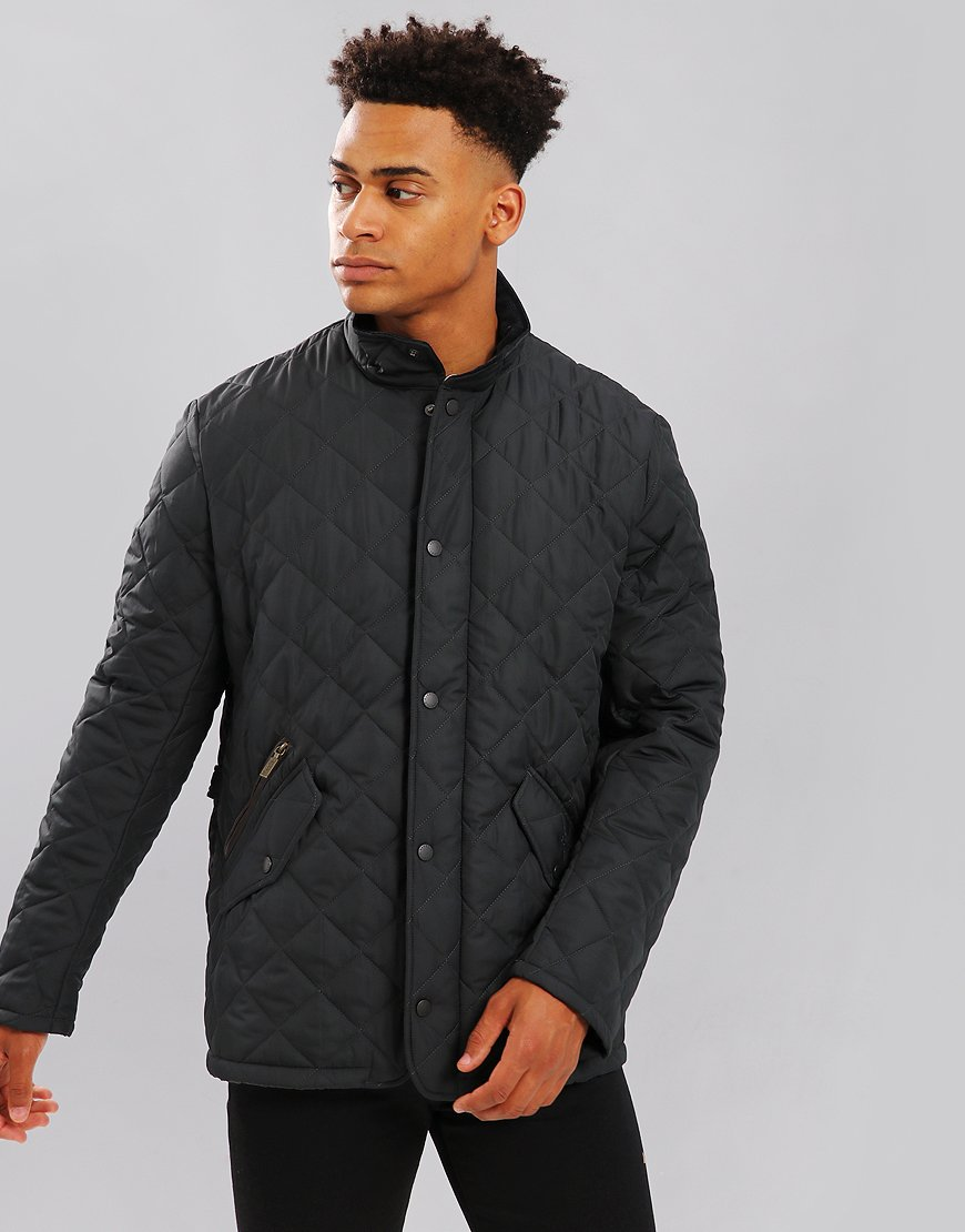 Barbour Chelsea Quilted Jacket   Navy