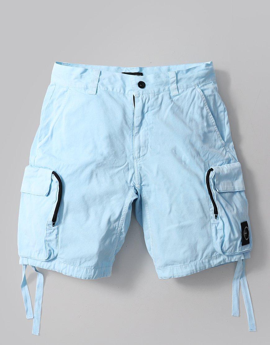 Marshall Artist Garment Dyed Cargo Shorts Sky