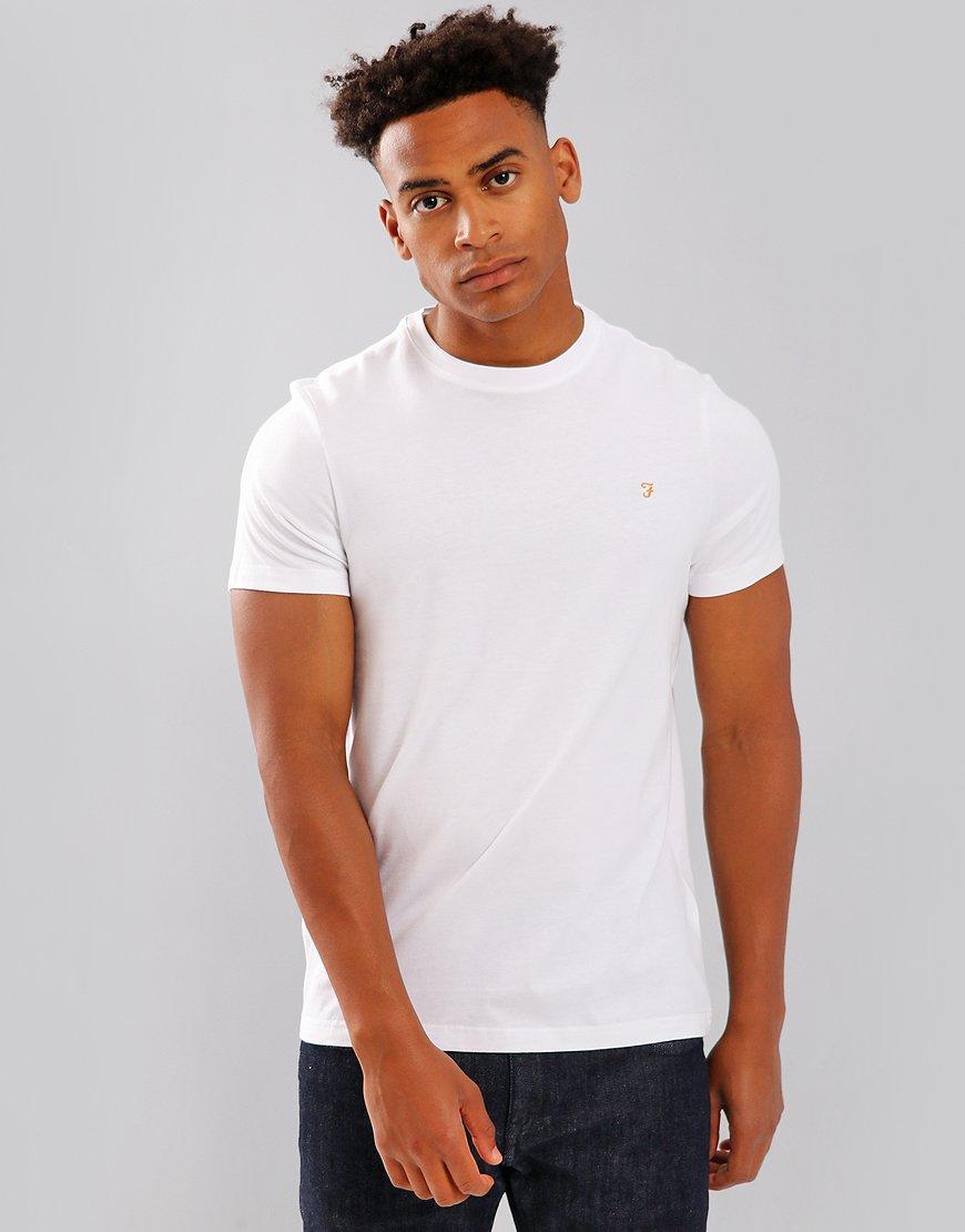Farah Denny Slim Fit T-Shirt White
