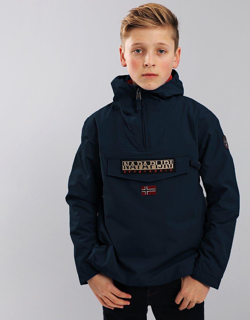 Napapijri Kids Summer Rainforest Jacket Blu Marine