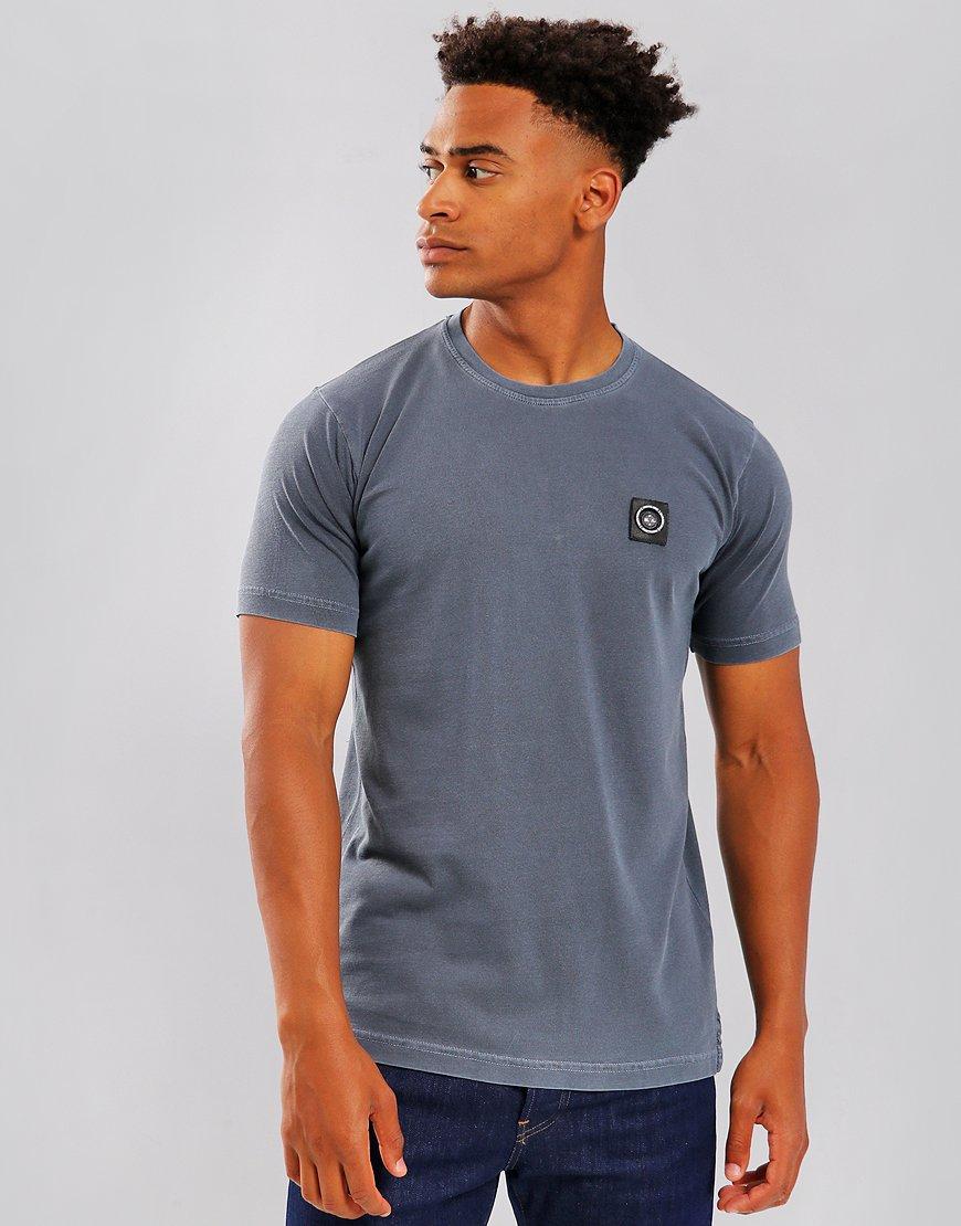 Marshall Artist Garment Dyed Siren T-Shirt Navy