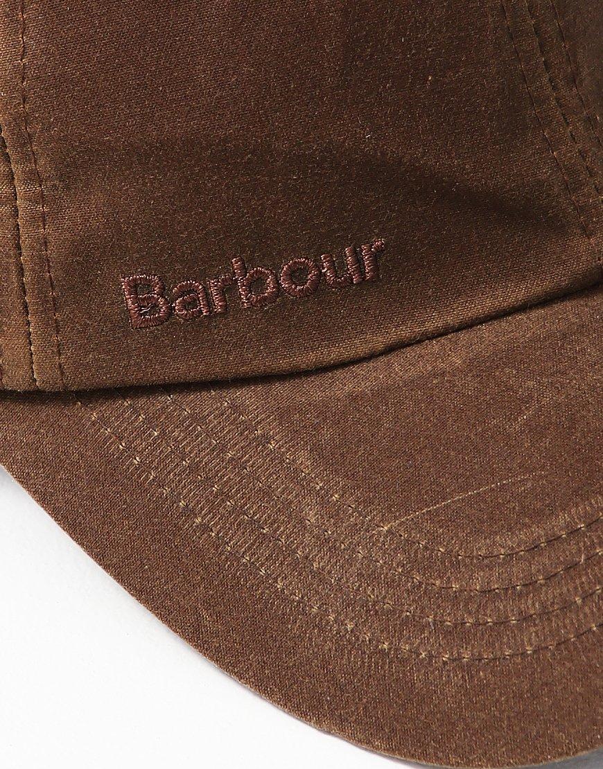 7394a80d2c6 Barbour Wax Sports Cap Sandstone - Terraces Menswear