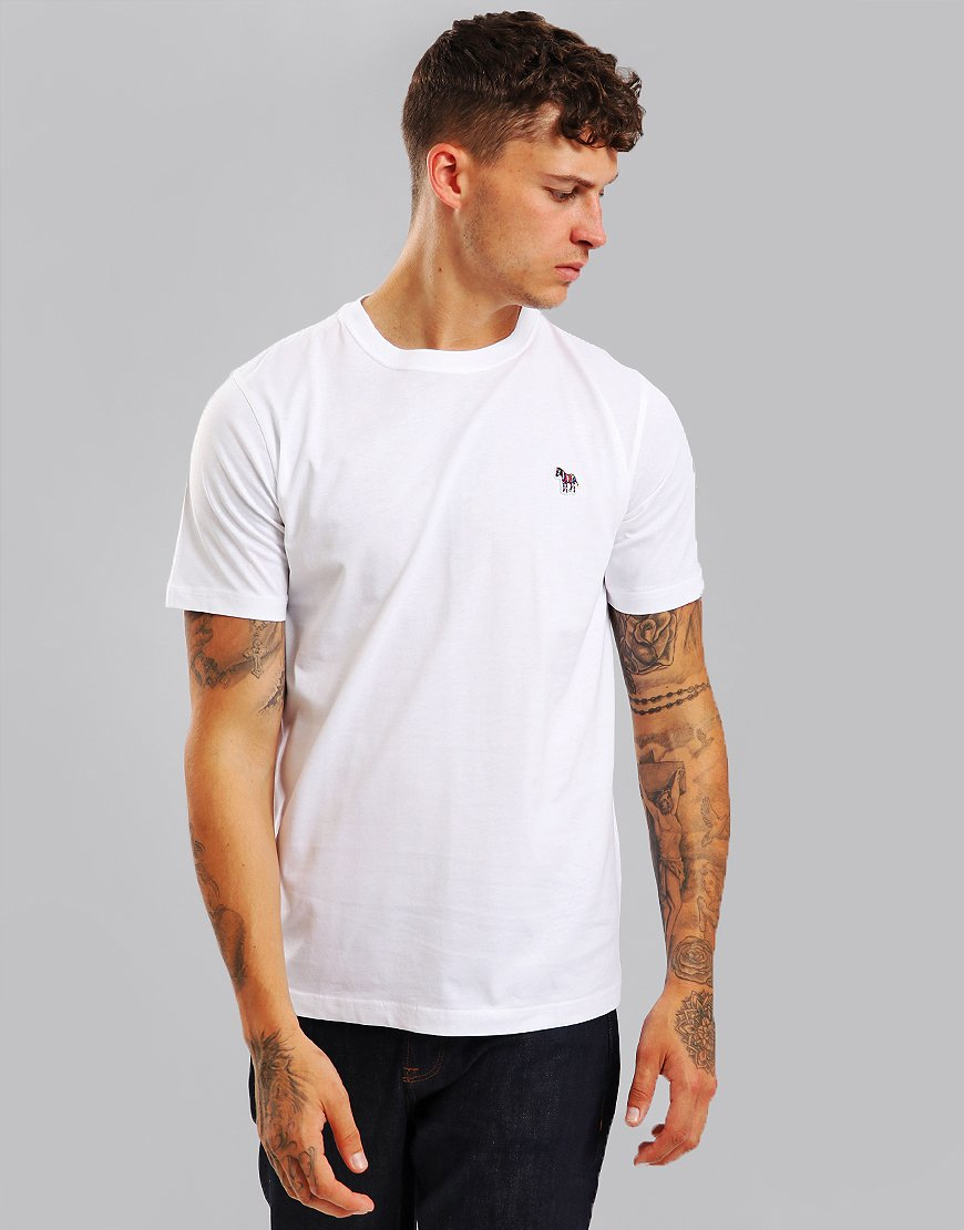 Paul Smith Zebra Logo T-Shirt White