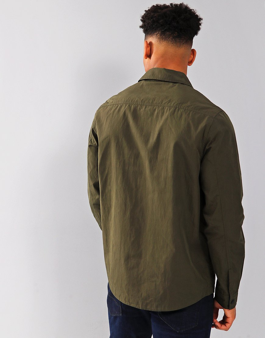 Paul Smith Shirt Jacket Military Green
