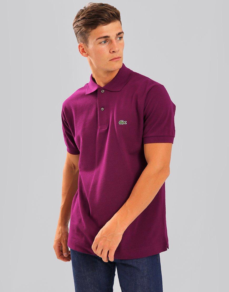 Lacoste L.12.12 Best Polo Shirt Urchin Purple