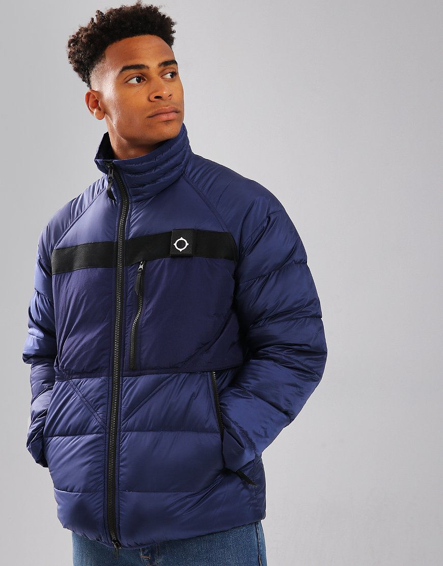 MA.Strum Corvus Down Jacket Mid Indigo