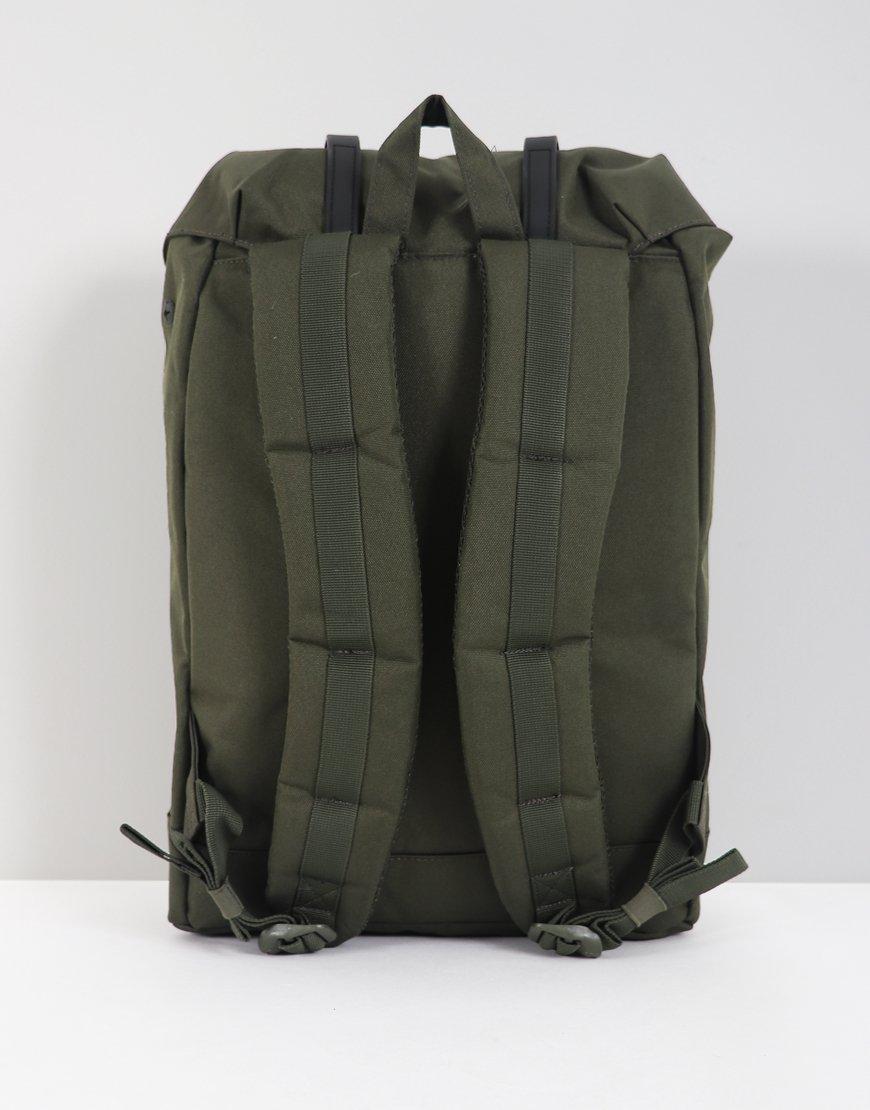 Herschel Retreat Backpack Forest Night Black - Terraces Menswear 7483b65778921
