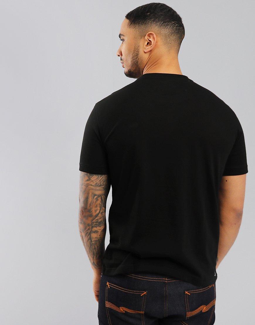 bac1c482 Lacoste Sport Plain T-Shirt Black - Terraces Menswear