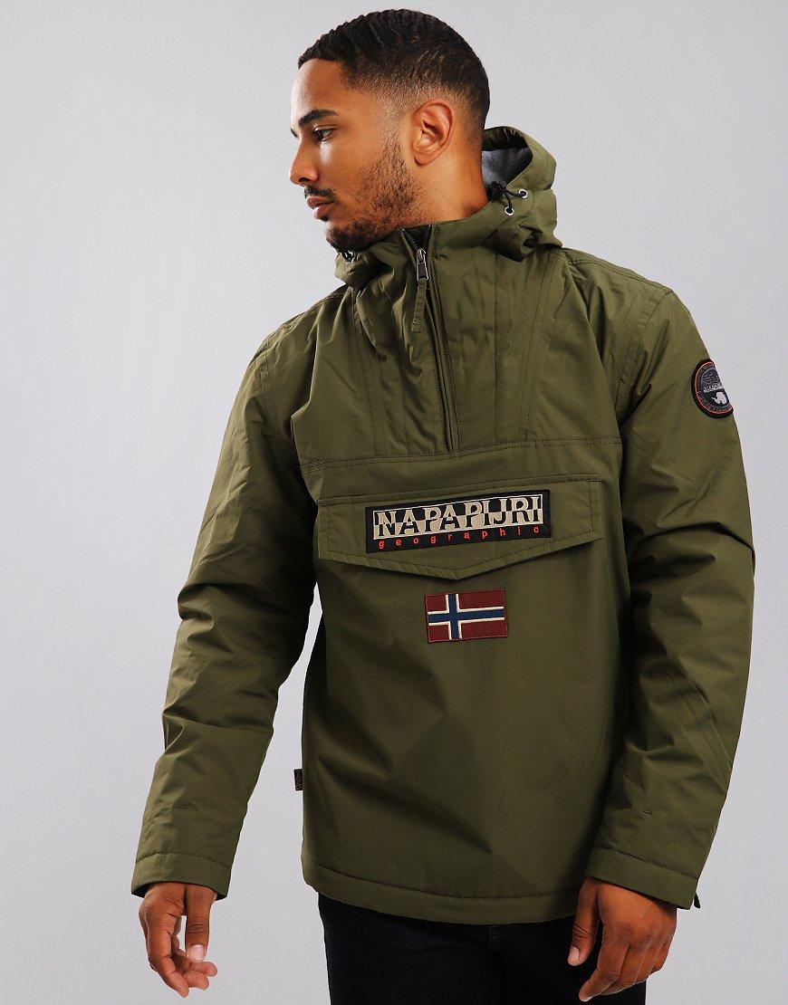 Napapijri Rainforest Winter Jacket Green Musk