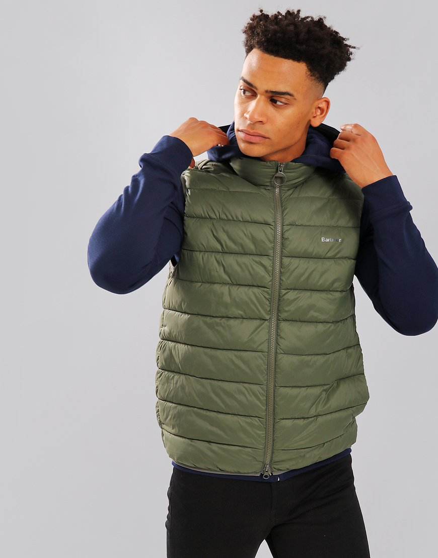 Barbour Bretby Quilted Gilet Olive