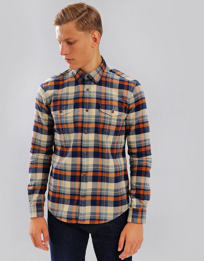 Barbour Steve McQueen Cutter Shirt Ecru