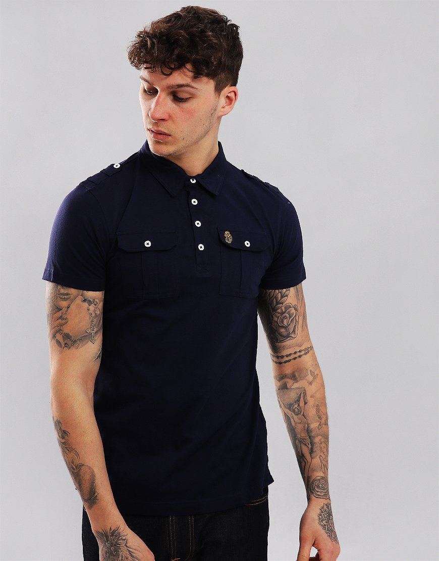 Luke 1977 And Why Not Polo Shirt Navy