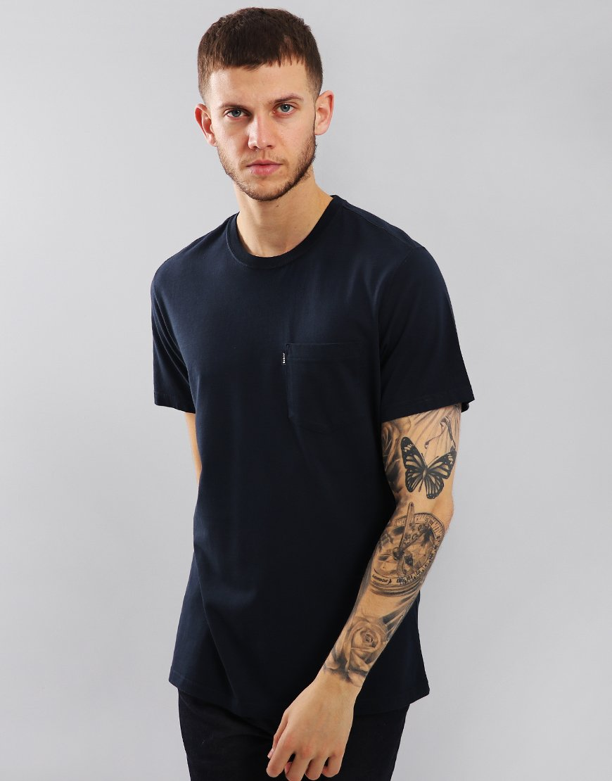 Barbour Essential Pocket T-Shirt Navy