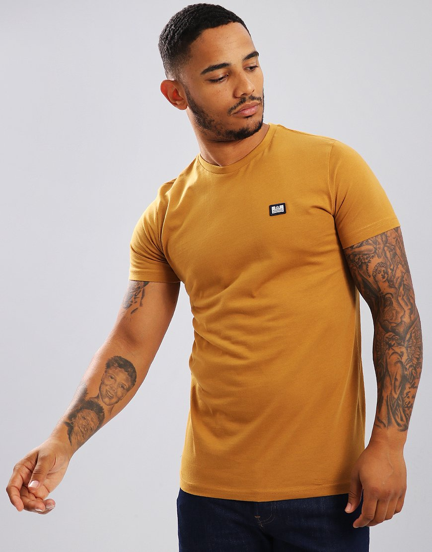 Weekend Offender Kahn T-Shirt Mustard