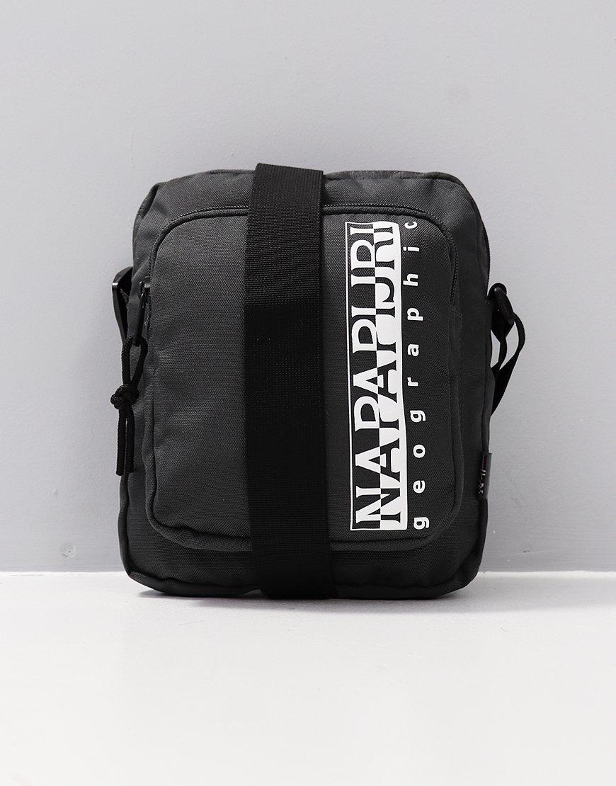 Napapijri Happy Cross Pocket Bag Dark Grey