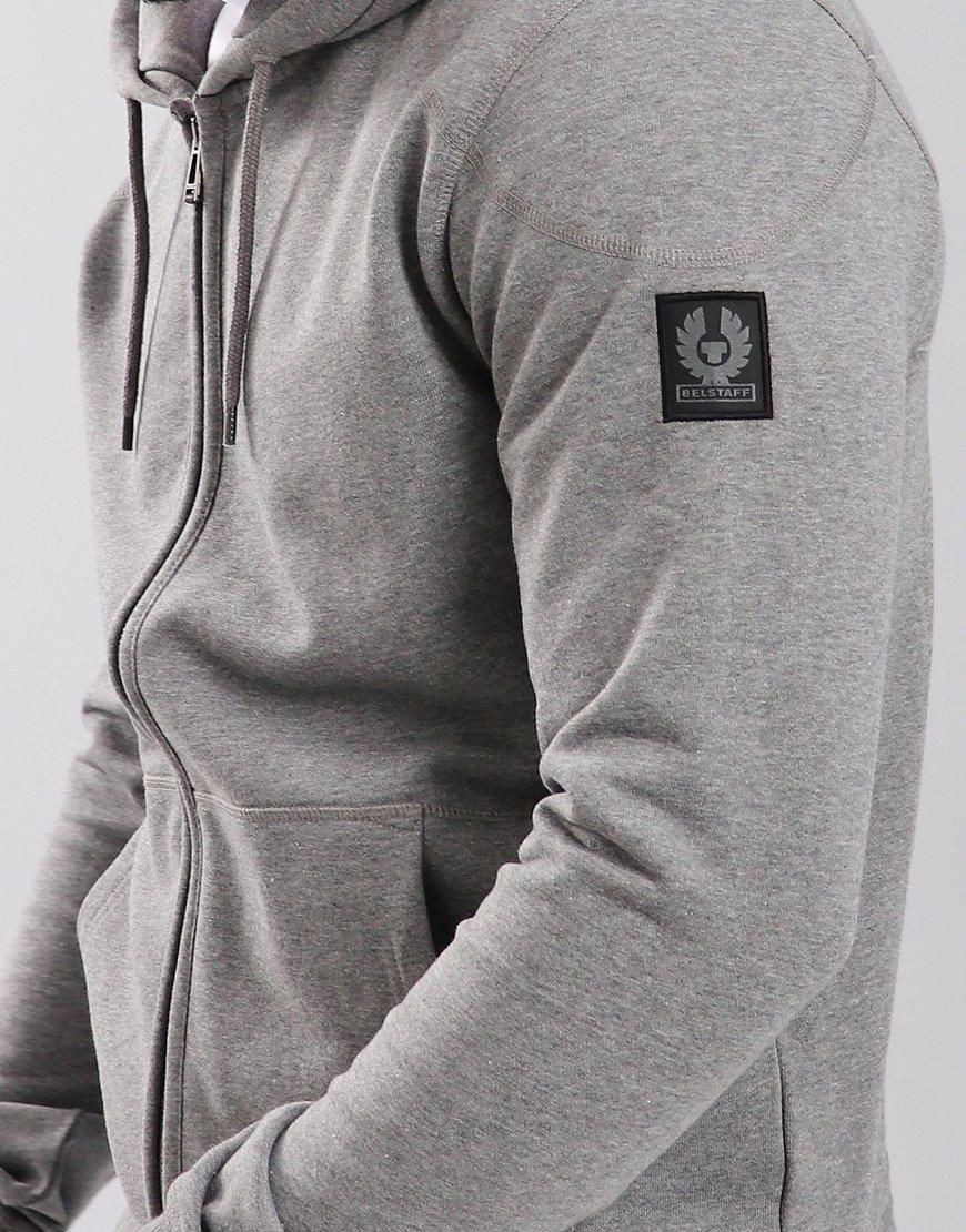 Belstaff Wentworth Hooded Sweat Grey