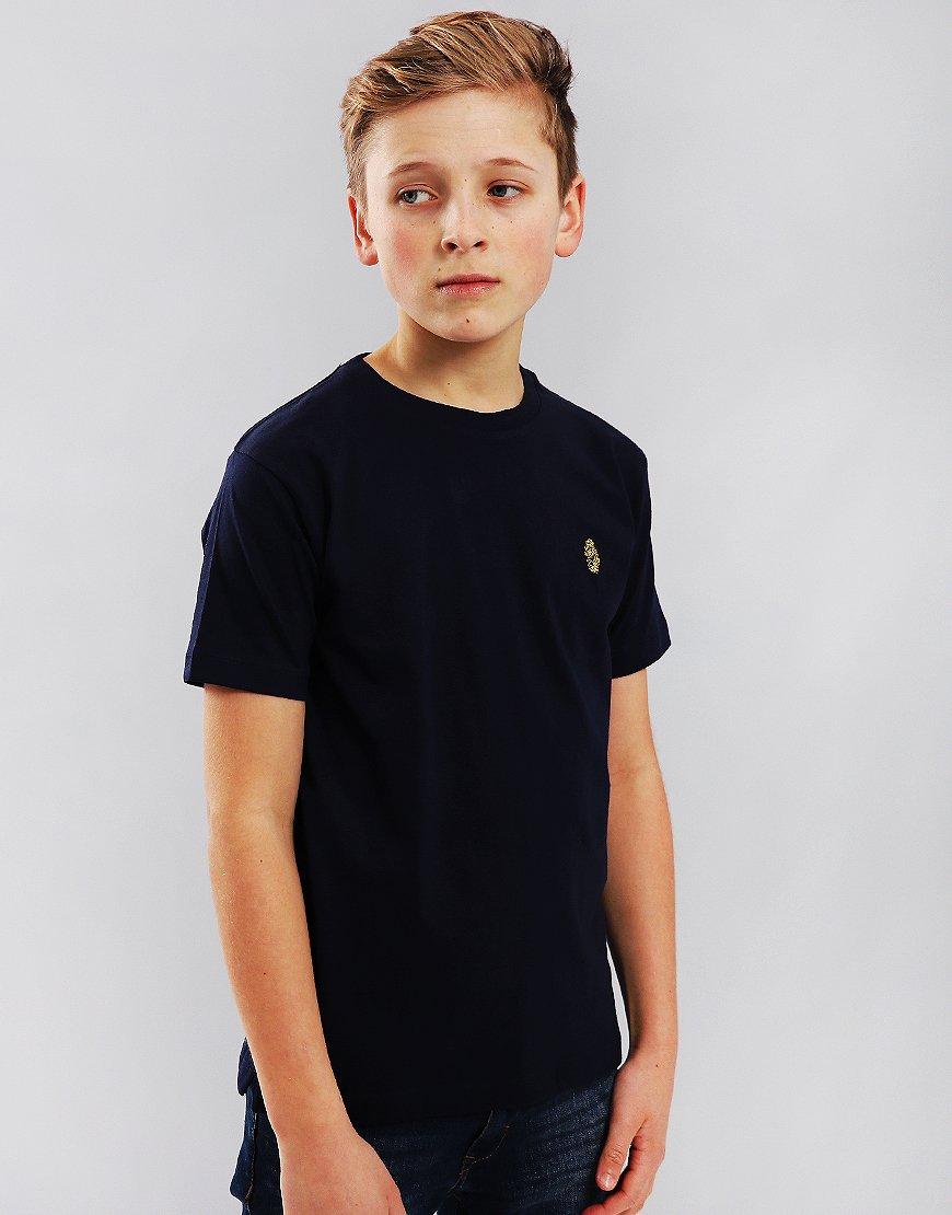 Luke 1977 Junior Hotdog T-Shirt Navy