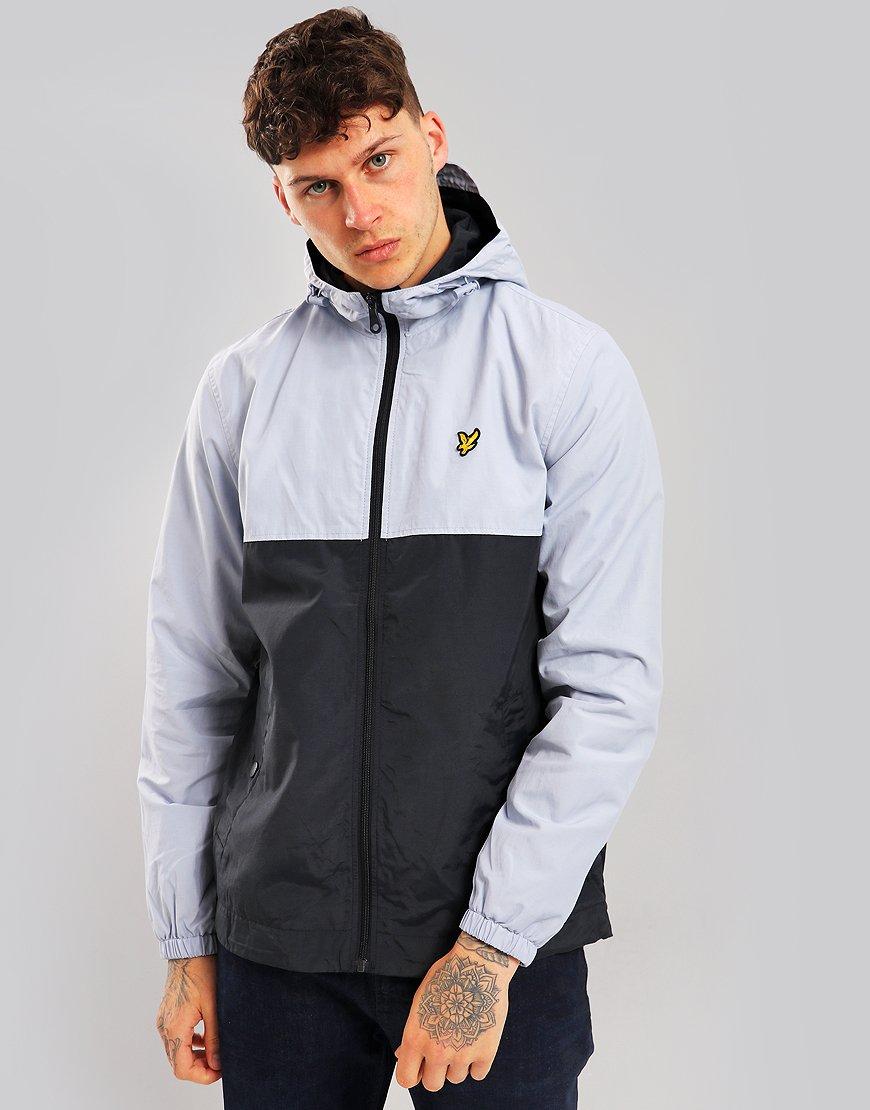 Lyle & Scott Colour Block Jacket Stonewash Blue